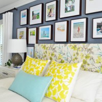 Making A Frame Gallery Wall Over Our Bed