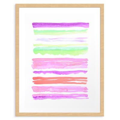 Lines #1 Art Print