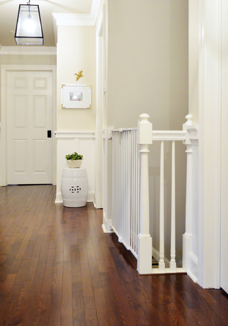 Hall-Baby-Gate-On-Stairs