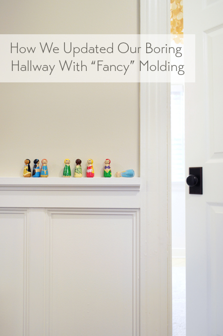 Updating-Our-Boring-Hallway-with-Fancy-Molding