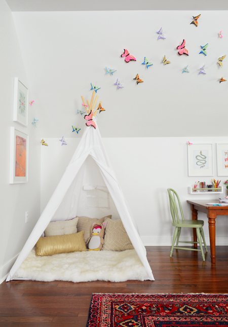 Playful-Family-Bonus-Room-Teepee-with-Butterflies