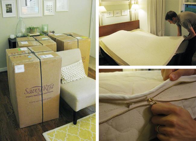 foam mattress review savvy rest latex organic mattress