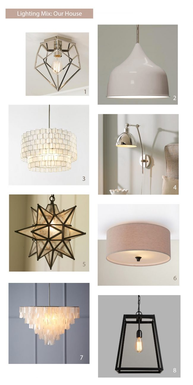 how to select light fixtures that work