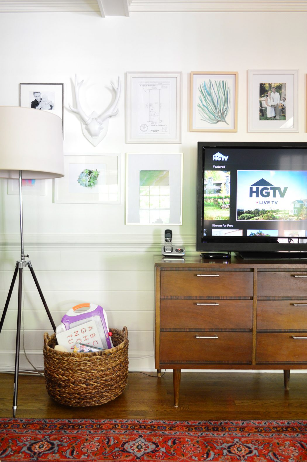 Cutting-Cable-Living-Room-Straight-On-TV-On | Young House Love