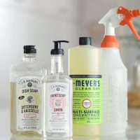 Living Simply: Our Go-To Household Cleaners And Personal Care Products
