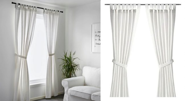 how to make cheap ikea curtains look