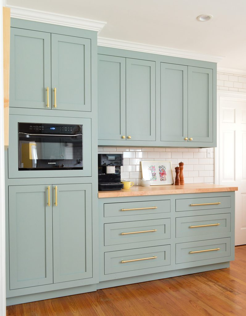 a big kitchen makeover created from