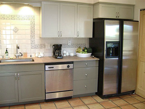 painted kitchen cabinet mak How To Redo Kitchen Cabinets On A Budget