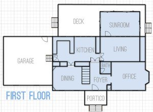 Drawing Up Floor Plans & Dreaming About Changes   Young House Love