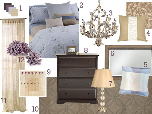 This Master Bedroom Is Primed For A Mood Board Makeover