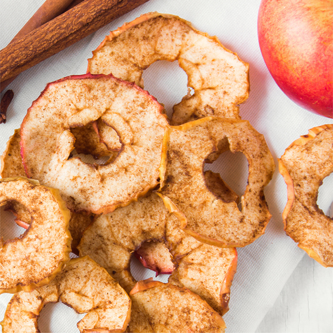 Cinnamon-Apple Chips Recipe