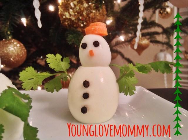 egg snowman