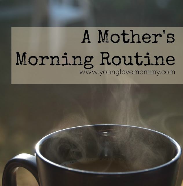 motherhood , daily routine young love mommy blog