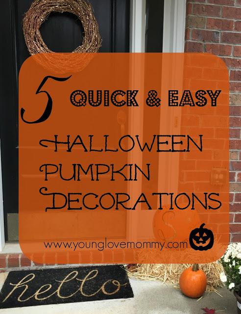 Halloween pumpkin decoration ideas