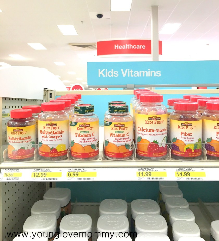 nature made gummies at target