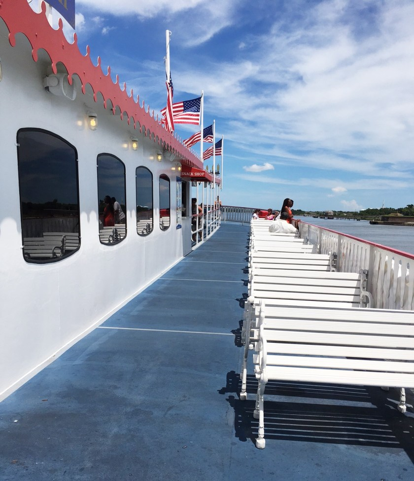 savannah riverboat cruise upper deck
