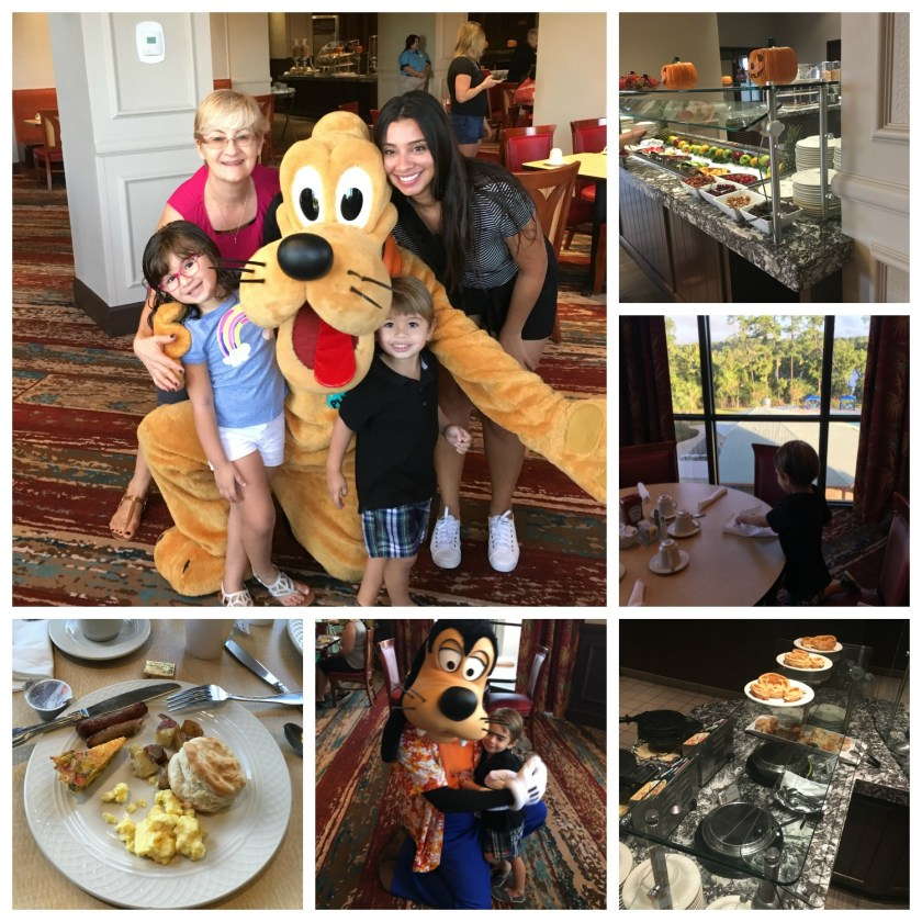 Disney Character Breakfast