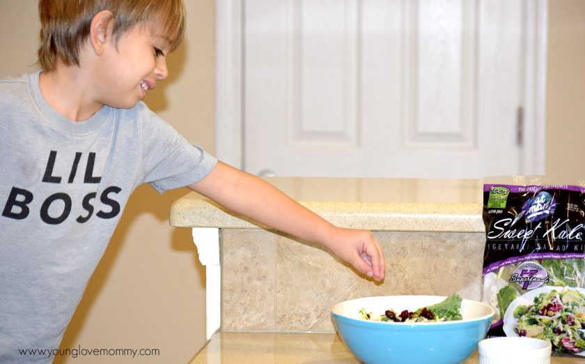 Eat Smart sweet Kale Salad Recipe