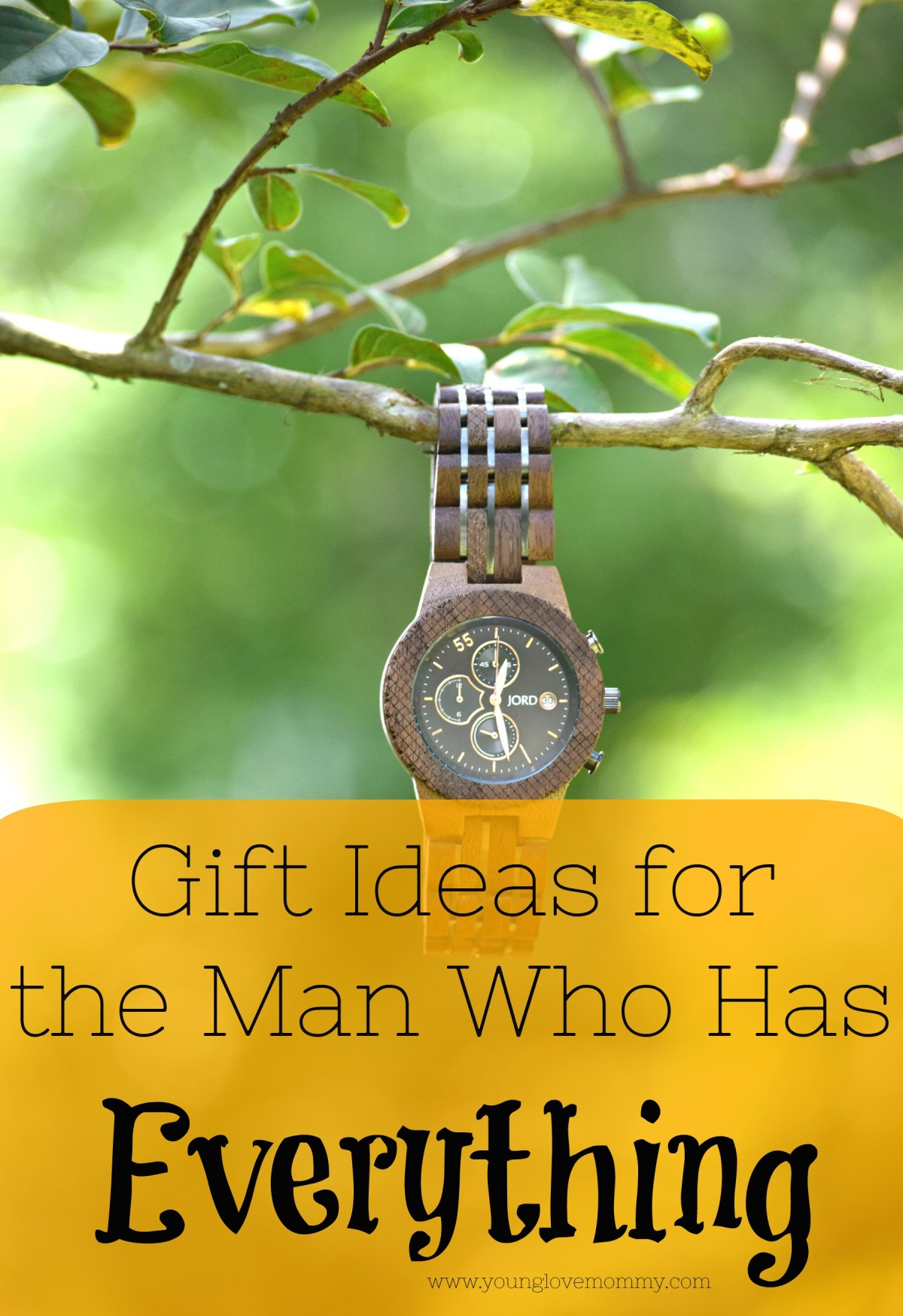 Unique Gift Ideas for the Man that Has Everything