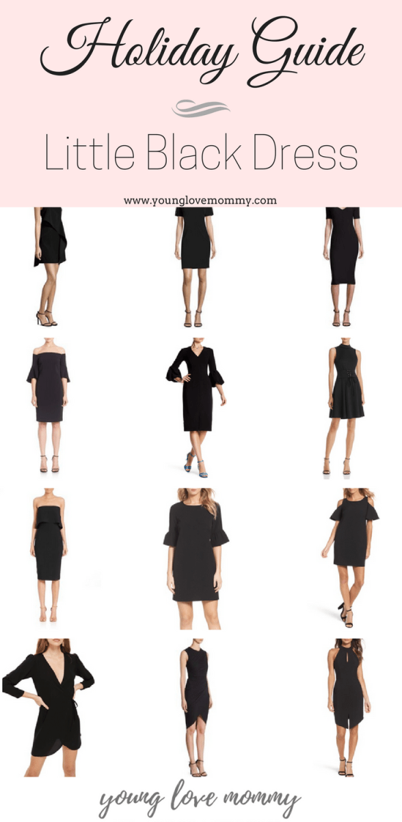 Holiday Dress Guide | Little Black Dress