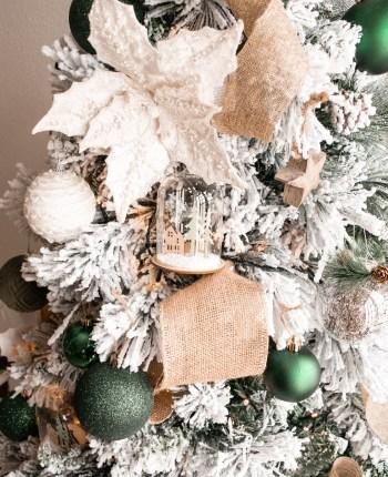 Nature Inspired Christmas Tree Decor