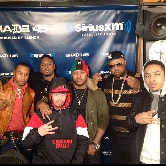 Cory Gunz & Euro Freestyle On DJ Kay Slay Radio Show