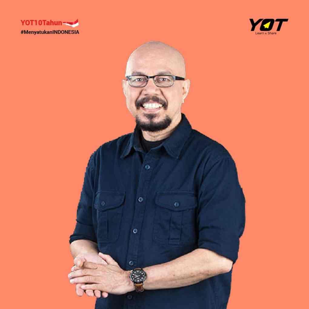 Andy F. Noya Membangun Bangsa Indonesia Melalui Komunitas