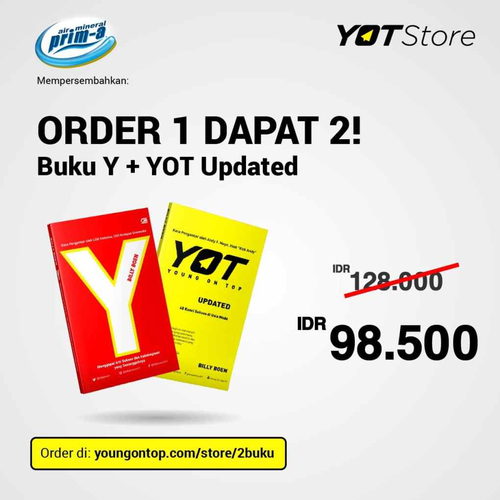 Buku Y + Young On Top Billy Boen