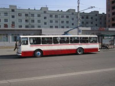 Pyongyang Trolley Bus