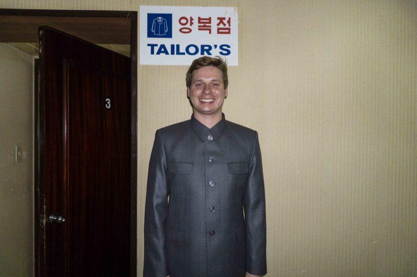 North Korea suit