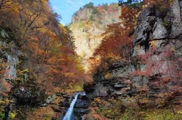 Chilbosan waterfall