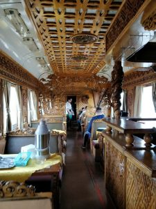 Mongolian Train Carriage