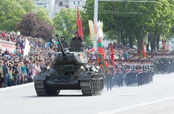 Transnistria parade