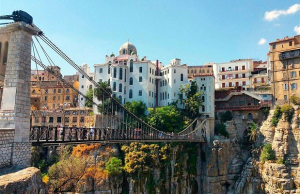 The hanging bridges of Constantine, Algeria