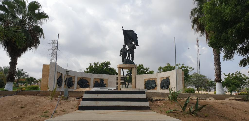 A memorial of Angola - Thinking about tarvel