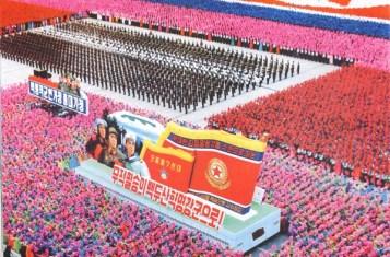 Songun parade