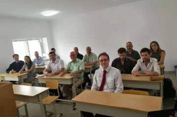 Pyongyang Korean Language Study Tour Students