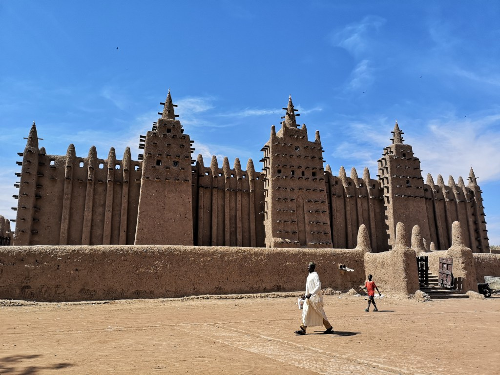 The central mosque of Djenné, Mali