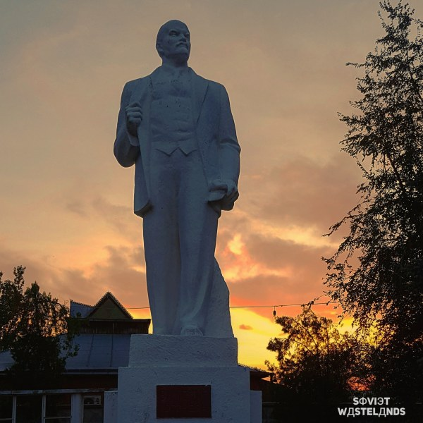 One of the numerous statues of Lenin found in Transnistria