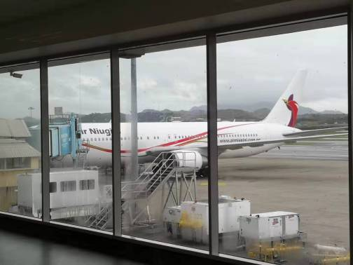 The bigger plans of Air Niugini, seen from Jackson International Airport in Port Moresby