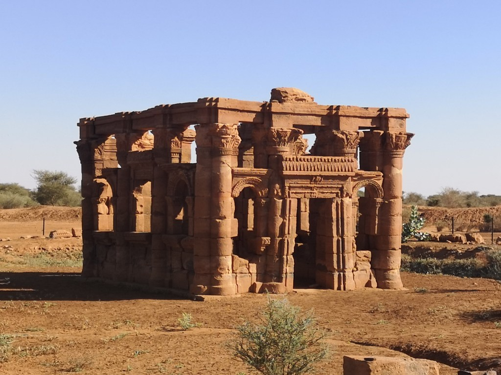 The roman kiosk of Mussawart, Sudan