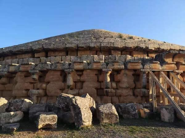 Berber tomb of Almadracen in Algeria