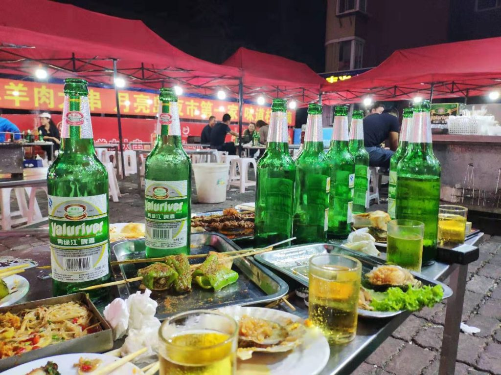 Barbecue in Dandong