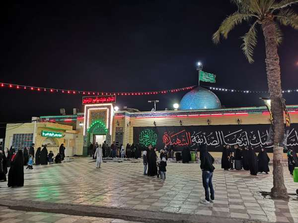 The Kufa mosque, where Imam Ali was murdered, is one of the holiest mosque in Shia Islam