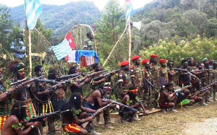 Free Papua Movement guerrillas