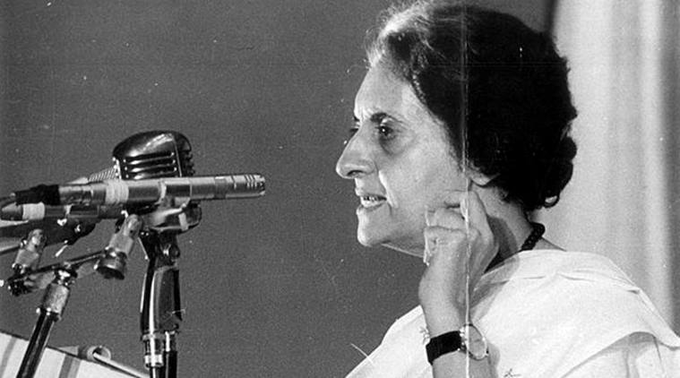 Indian leader Indira Gandhi, hardly aspiring for countries that are communist.