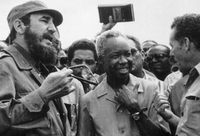Julius Nyerere and Fidel Castro, leader of Cuba, one of the most prominent socialist systems.