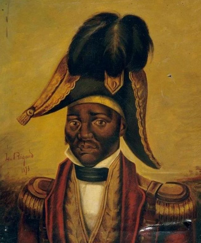 Jean-Jacques Dessalines, later Emperor Jacques I. First head of post-revolutionary Haiti.
