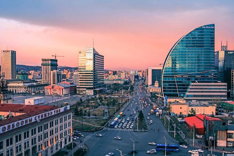 Modern skyline of the capital
