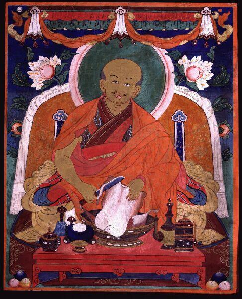 Zanabazar, arguably the founder of Ulaanbaatar, capital of Mongolia
